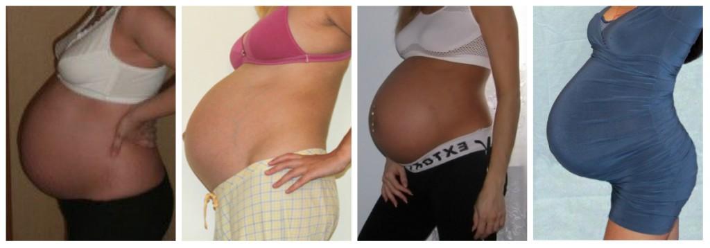 36 тиждень вагітності зміна живота