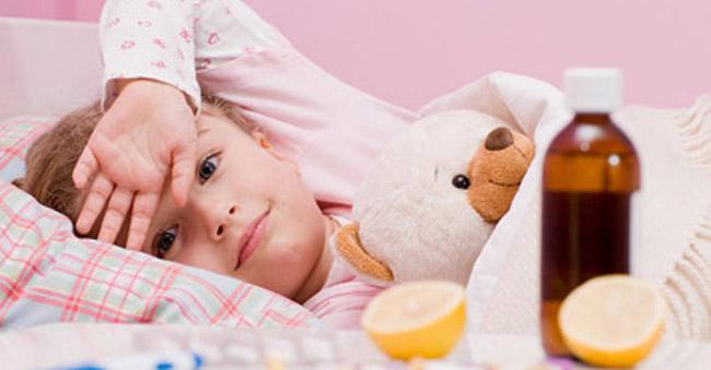 Лікування ангіни і кашлю у дітей