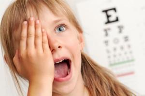 погіршення зору у дітей