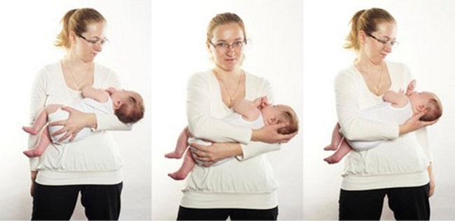 як правильно тримати малюка