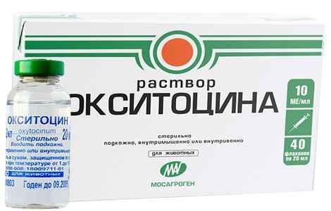 Окситоцин при пологах ампули