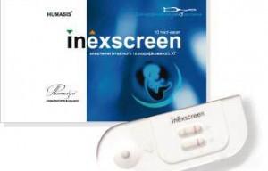 імунохроматографічна тест-касета Inexscreen