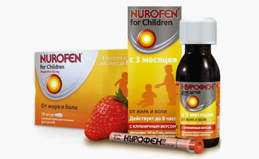 Нурофен для дітей: допоможе швидко, безпечно і ефективно