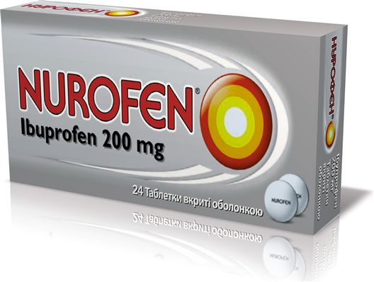 Нурофен - інструкція до застосування