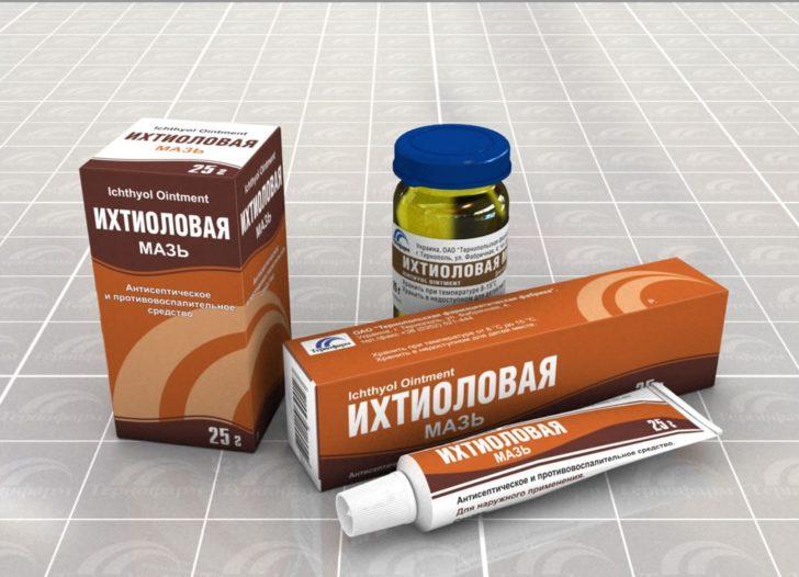 Іхтіолова мазь - дуже популярний засіб, що застосовується для лікування прищів на шкірі