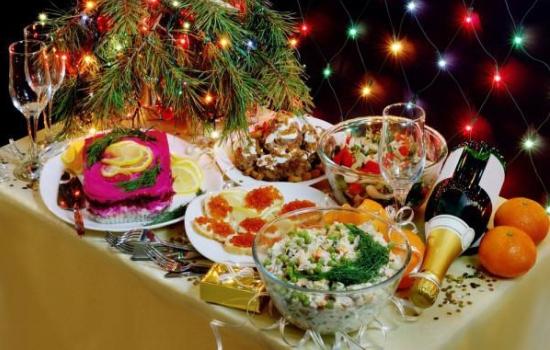 Рецепти на Новий рік на швидку руку