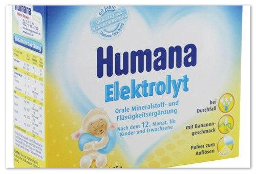 Хумана Електроліт: інструкція, відгуки, аналоги