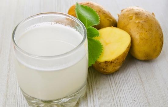 Картопляний сік: користь, застосування в народній медицині