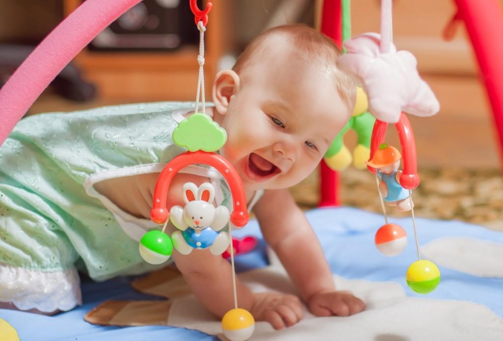 Розвиваючі ігри для дитини в 5 місяців
