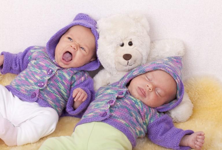Як прикласти спати двійнят
