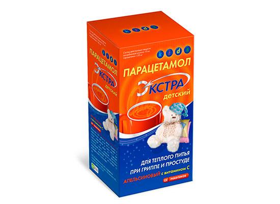 Дитячий парацетамол - інструкція, як давати дитині