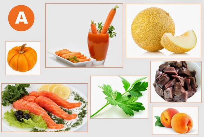 Продукти з вітаміном А корисні при виразці ДПК