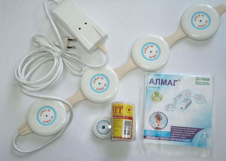 Магнітотерапію в домашніх умовах можна проводити апаратом АЛМАГ