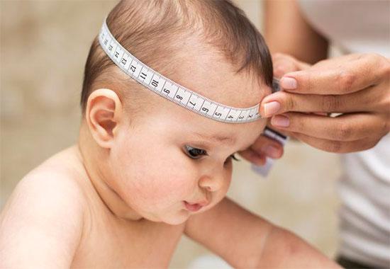 Розмір голови і вік дитини: норми