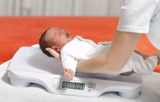 Норма збільшення ваги у новонароджених - точні цифри