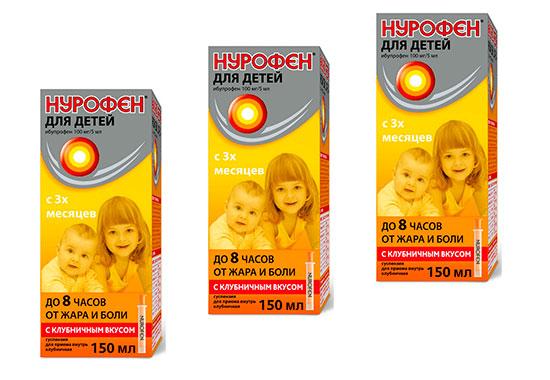 Нурофен для дитини - за і проти