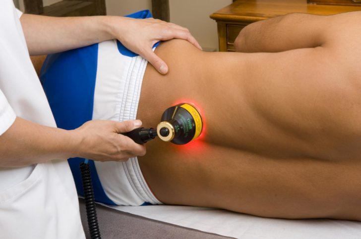 Лазеротерапія сприяє ліквідації запальних вогнищ