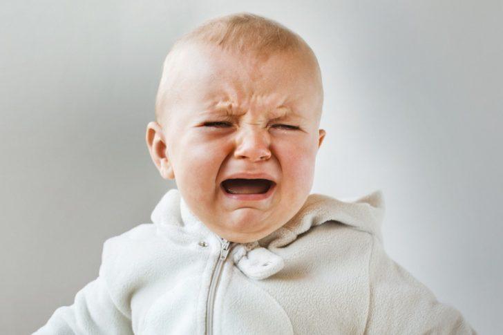 Діти з такою формою діатезу можуть плакати протягом декількох годин