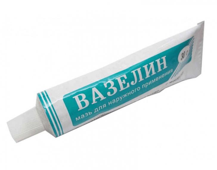 Вазелін захищає, зволожує і пом'якшує шкіру