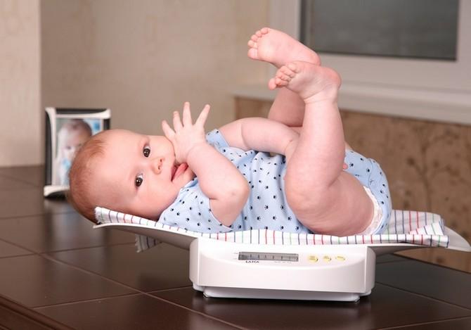 Норми набору ваги для новонародженого - таблиця