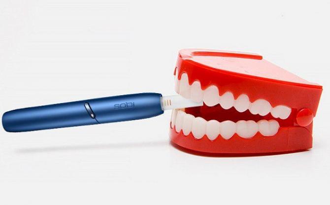 Як iqos впливає на зуби? Cтоматологи розповіли правду.