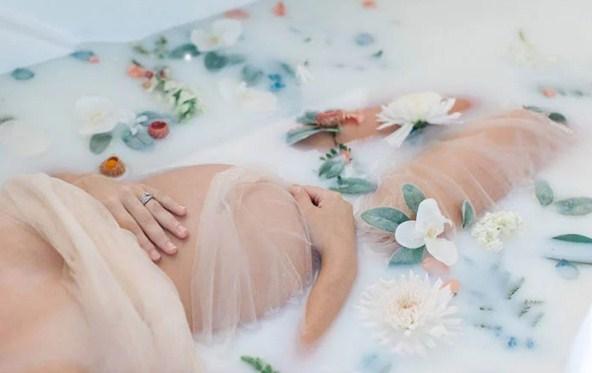 Як не можна митися при вагітності?